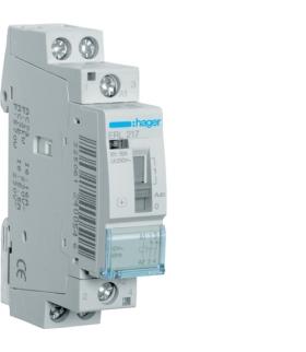 ERL217 Przekaźnik instalacyjny 12VAC 2NC 16A  Hager