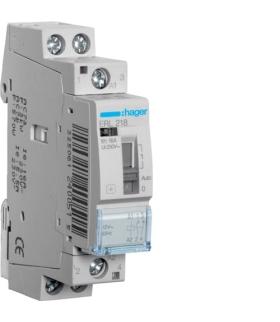 ERL218 Przekaźnik instalacyjny 12VAC 1NO+1NC 16A  Hager