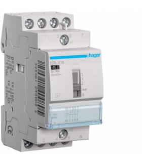 ERL418 Przekaźnik instalacyjny 12VAC 2NO+2NC 16A  Hager