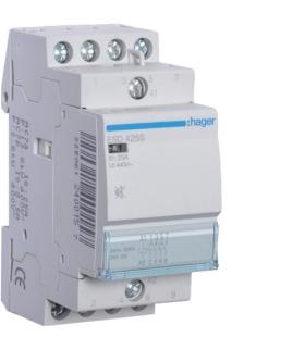 ESD425S Stycznik cichy 24VAC 4NO 25A AC-7a/b Hager