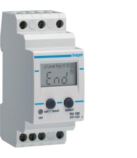 EU103 Przekaźnik kontroli prądu 1-fazowy wyświetlacz LCD  Hager