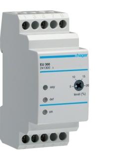 EU300 Przekaźnik kontroli faz i asymetrii 3-fazowy  Hager