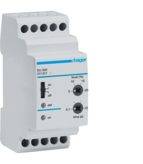EU302 Przekaźnik kontroli napięcia 3-fazowy,  regulowany poziom napięcia  Hager