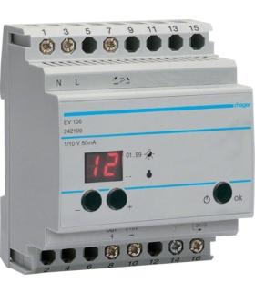 EV106 Urządzenie zdalnego sterowania ściemniaczami EV100/EV102 Hager