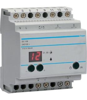 EV108 Urządzenie zdalnego sterowania ściemniaczami EV100/EV102, funkcje Comfort Hager