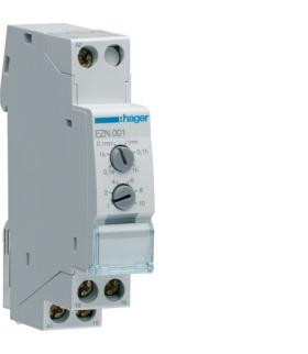 EZN001 Przekaźnik czasowy 12-230VAC/12-48VDC 1P 8A z opóźnieniem załączenia Hager