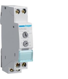 EZN002 Przekaźnik czasowy 12-230VAC/12-48VDC 1P 8A z opóźnieniem wyłączenia Hager