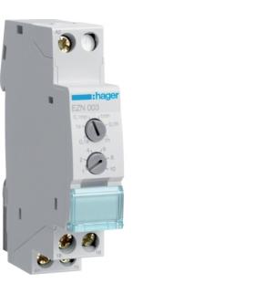 EZN003 Przekaźnik czasowy 12-230VAC/12-48VDC 1P 8A wyzwalany napięciem  Hager