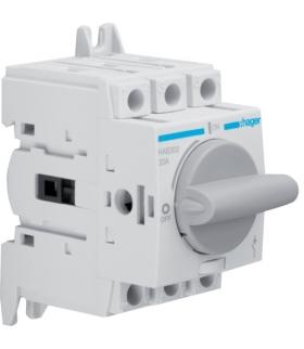 HAB302 Modułowy rozłącznik izolacyjny obrotowy 3P 20A,  rozmiar 1  Hager