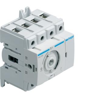 HAB404 Modułowy rozłącznik izolacyjny obrotowy 4P 40A,  rozmiar 1  Hager