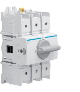 HAD310 Modułowy rozłącznik izolacyjny obrotowy 3P 100A,  rozmiar 3  Hager