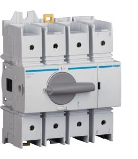 HAD412 Modułowy rozłącznik izolacyjny obrotowy 4P 125A,  rozmiar 3  Hager