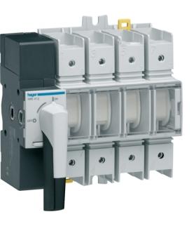 HAE412 Modułowy rozłącznik izolacyjny obrotowy z widoczną przerwą 4P 125A,  rozmiar 4  Hager