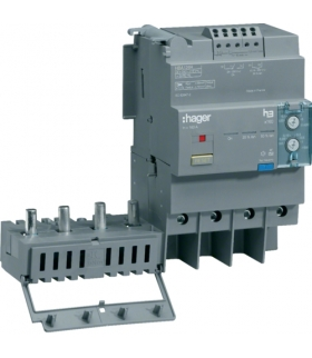 HBA126H Blok różnicowo-prądowy 4P 125A,  regulowany  Hager