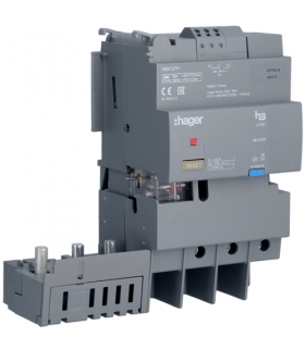 HBA127H Blok różnicowo-prądowy 3P 125A,  bez regulacji  Hager