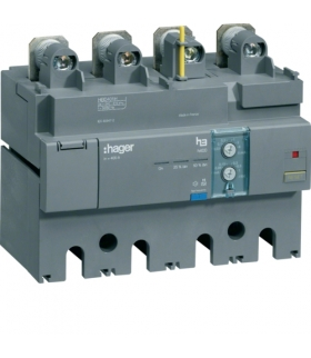 HBD401H Blok różnicowo-prądowy 4P 400A,  regulowany  Hager