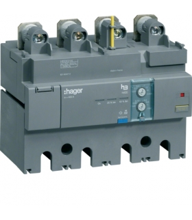 HBD631H Blok różnicowo-prądowy 4P 630A,  regulowany  Hager