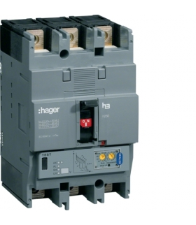 HEC125H Wyłącznik mocy h250 3P 70kA 125A LSI Hager