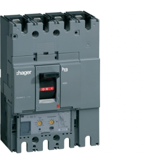 HED401H Wyłącznik mocy h630 4P 70kA 400A LSI  Hager