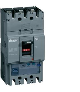 HHD400U Wyłącznik mocy h400 3P 25kA 400A TM  Hager