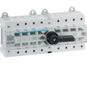 HI405R Przełącznik modułowy I-O-II 4P 100A  Hager