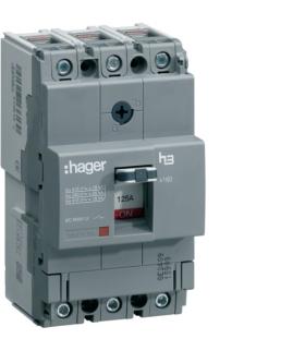 HNA160H Wyłącznik mocy x160 3P 40kA 160A Hager