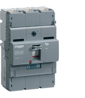 HNB160H Wyłącznik mocy x250 3P 40kA 160A TM  Hager