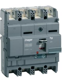 HNB162H Wyłącznik mocy x250 4P N50% 40kA 160A TM  Hager