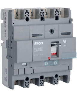 HNB252H Wyłącznik mocy x250 4P N50% 40kA 250A TM  Hager