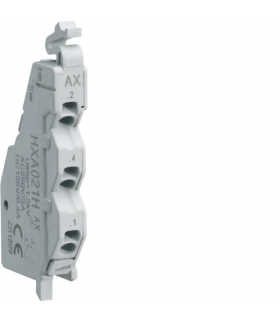 HXA021H Styk pomocniczy x160-x250 1P 250VAC Hager