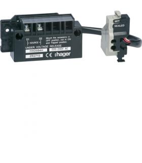 HXD054H Wyzwalacz podnapięciowy zwłoczny h400-h630 4P 220-240VAC  Hager