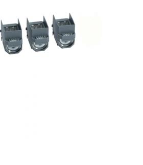 HYB001H Zaciski klatkowe Al/Cu x250 3P Hager