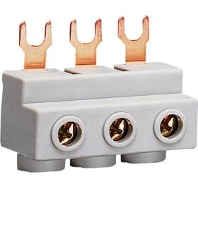 KF30M Zaciski przyłączeniowe 3P wyłączników silnikowych - do zasilania szyn 3x25mm² Hager