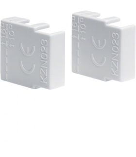 KZN023 Osłony końcowe do szyn grzebien. kołkowych i widełkowych 3P 10mm² / 2P 16mm²  Hager