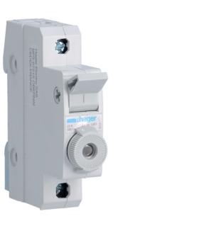L95100 Modułowy rozłącznik bezpiecznikowy 1P wkł.bezp.cyl.L38 10x38mm 20A 400VAC Hager