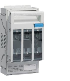 LT053 LT rozłącznik bezpiecz. NH00 3P 160A 690VAC szyny 40mm odpływ śruba M8  Hager