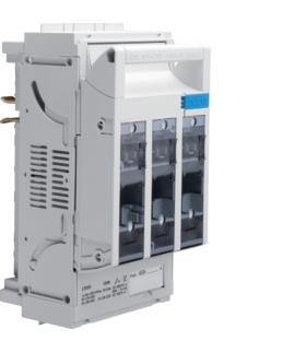 LT055 LT rozłącznik bezpiecz. NH00 3P 160A 690VAC szyny 40mm odpływ zaciski 3P 16mm²  Hager
