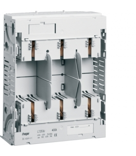 LT253U LT podstawa bezpiecz. NH2 3P 400A 690VAC szyny Cu 60mm zaciski śruba M10  Hager