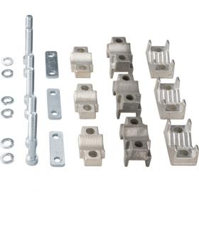 LZ156 LT zestaw zacisków pryzm. do rozłącz. NH3 (3 szt.) 2x150-185mm² Cu/Al 2 przewody Hager