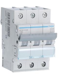 MCN332E MCB Wyłącznik nadprądowy Icn 6000A 3P C 32A Hager