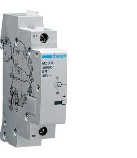 MZ205 Wyzwalacz podnapięciowy do MCB,  RCCB,  RCBO 48VDC  Hager