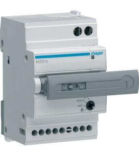 MZ915 Napęd zdalny automatyczny do MCB 1P/2P/1P+N,  RCBO 2P/4P  Hager