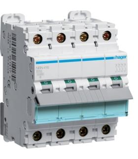 NBN416 MCB Wyłącznik nadprądowy Icn 10000A / Icu 15kA 4P B 16A  Hager