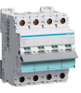 NBN616 MCB Wyłącznik nadprądowy Icn 10000A / Icu 15kA 3P+N B 16A  Hager