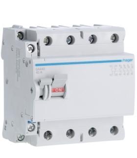 SA440 Modułowy rozłącznik izolacyjny z możliwością wyzwalania 4P 40A 400VAC, styk pom. Hager