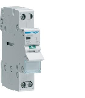 SBB116 Modułowy rozłącznik izolacyjny z lampką sygnalizacyjną 1P 16A 230VAC Hager