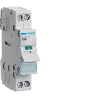 SBM216 Modułowy rozłącznik izolacyjny z lampką sygnalizacyjną 2P 16A 230VAC Hager