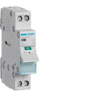 SBM225 Modułowy rozłącznik izolacyjny z lampką sygnalizacyjną 2P 25A 230VAC Hager