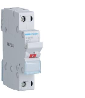 SBN116 Modułowy rozłącznik izolacyjny 1P 16A 230VAC Hager
