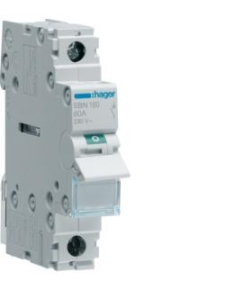 SBN180 Modułowy rozłącznik izolacyjny 1P 80A 230VAC  Hager